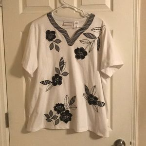 Alfred Dunner Blouse 1X